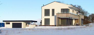 Luxusních dům Griffner s hydroizolacemi z TPO folií Schedetal