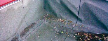 Lepený střešní plášť, tepelná izolace z pěnového polystyrenu