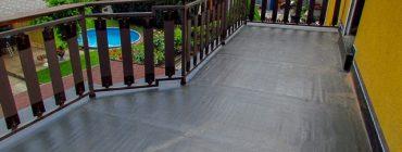 Celoplošná oprava hydroizolací klasických teras bez jejich demolice